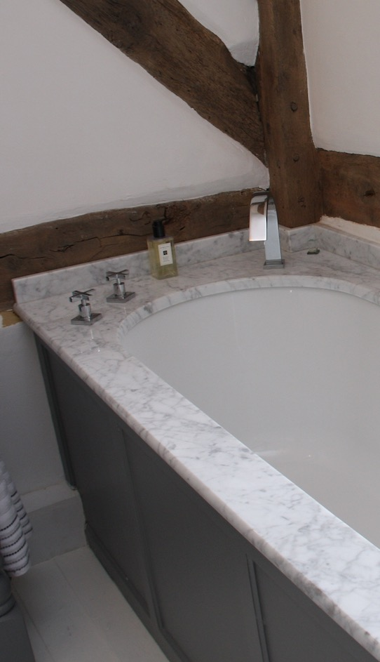Marble Stone used in a bathroom